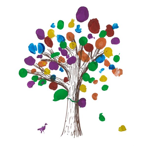 Castlegar United Tree Logo